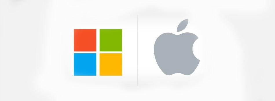 微软笑看苹果