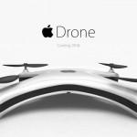 苹果无人机Drone:德国小伙创意设计四轴飞行器概念图