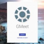谷歌多人视频通话:Google新产品GMeet曝光