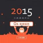 小米游戏中心:2015年Q1季度数据大揭密