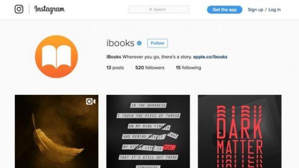 促销新招:iBooks 推出 Instagram 官方账号